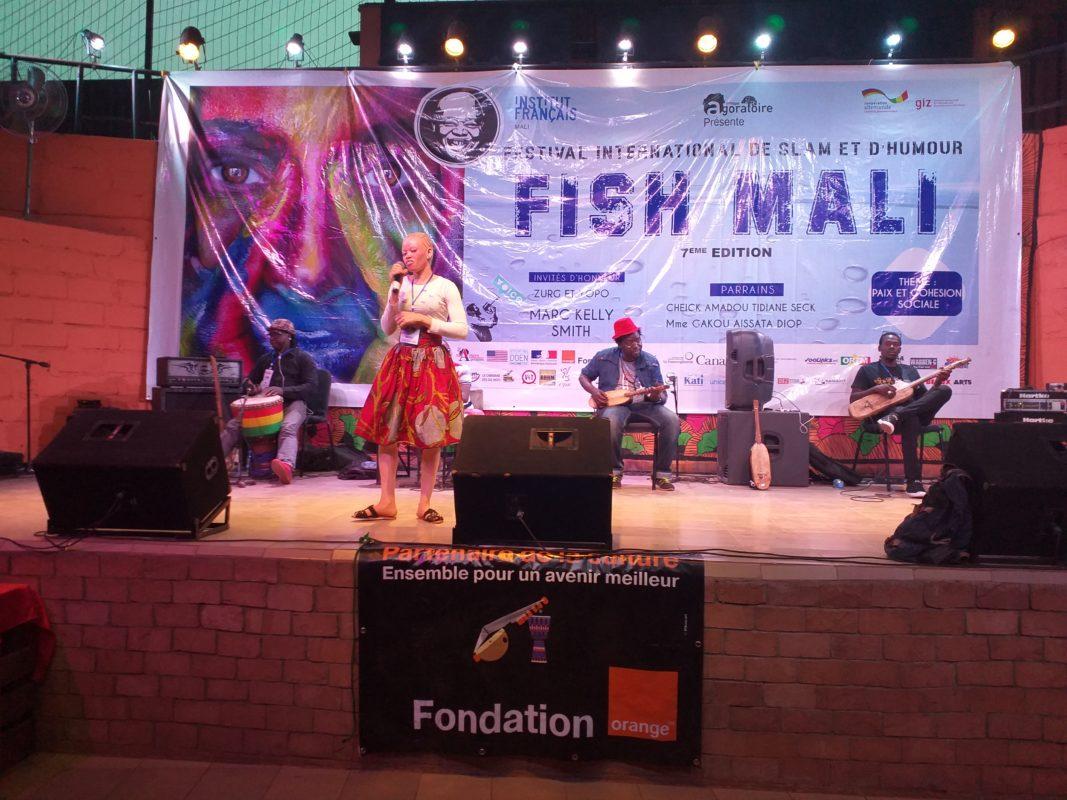 Le lancement de la septième édition du festival international de slam et d'humour FISH-Mali était plein d'émotion à Bamako.